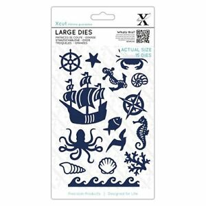 Stanz-Praegeschablonen-cutting-Ocean-Piraten-schiff-Welle-DoCrafts-XCU503347