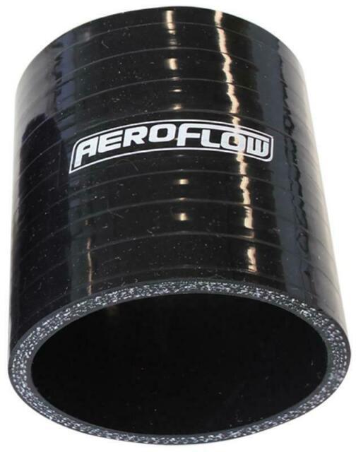 """Aeroflow Silicone Hose Str Black I.D 1.75"""" 45mm Wall 4.5mm 76mm Long Af 9201-175"""