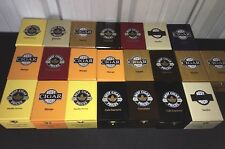 Best Cigar Prices Logo Wooden Cigar Boxes! Lot of 22 Assorted! Nice Colors 4x6x3