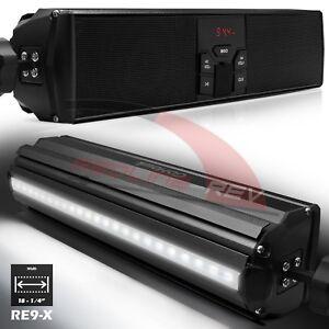 Bluetooth-Motorcycle-Audio-Stereo-Speaker-System-LED-MP3-FM-Radio-USB-AUX-Harley