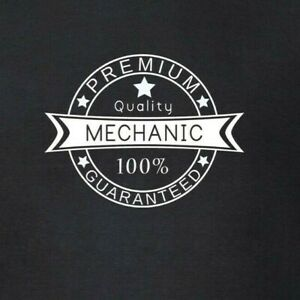 Mechanic-Premium-Quality-100-Guaranteed-T-Shirt-Mechanical-Garage-Car-Top