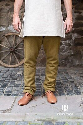 Medieval Thorsberghose Wool Trousers Viking /Larp - Autumn Green  Burgschneider | eBay