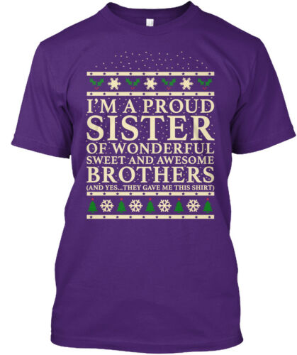 Great gift Christmas Gift For Sister From Brothers Hanes Tagless Tee T-Shirt