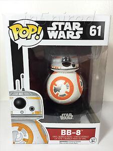 Funko Pop Star Wars 7 Bb-8 Droid Force Awakens Luke Skywalker Vinyl Figure #61