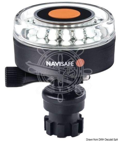 NAVISAFE 360 weiß grad Navilight weiß 360 mit Bajonettanschluss f88608