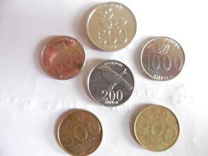 (a161)-indonesie-lot De 6 Pieces-années 2000
