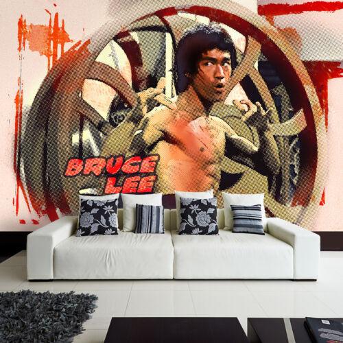 Fototapete Vlies Tapete modernes Design Film Bruce Lee Kampfsport Karate Kung Fu