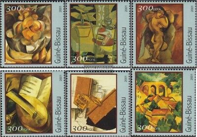 Stamps Topical Stamps Persevering Guinea-bissau 1600-1605 Postfrisch 2001 Gemälde