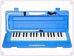 Woodnote Blue 37 Key Melodica / Hard Case