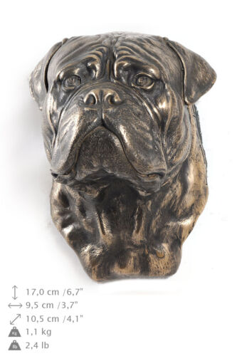 Bullmastiff dog statuette to hang on the wall UK