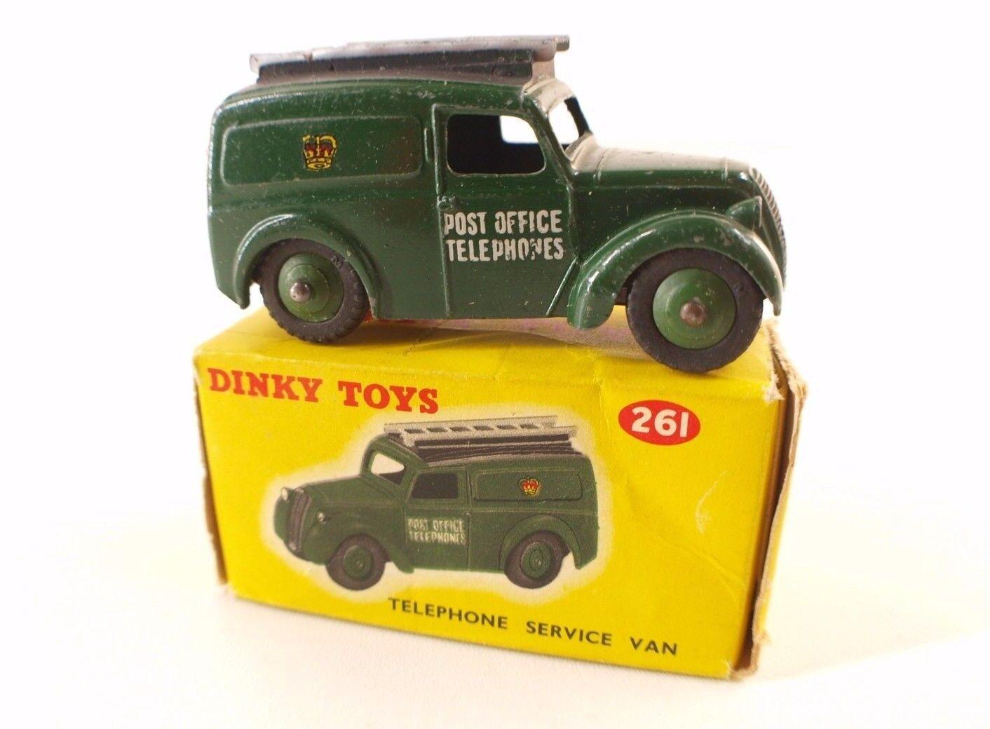 Dinky Toys GB N º 261 Teléfono Estación de Van Post Office