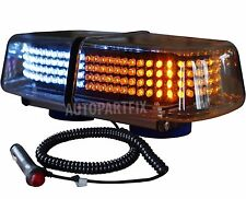 240 LED Magnetic White Amber Yellow Emergency Truck Strobe Flash Light Warning