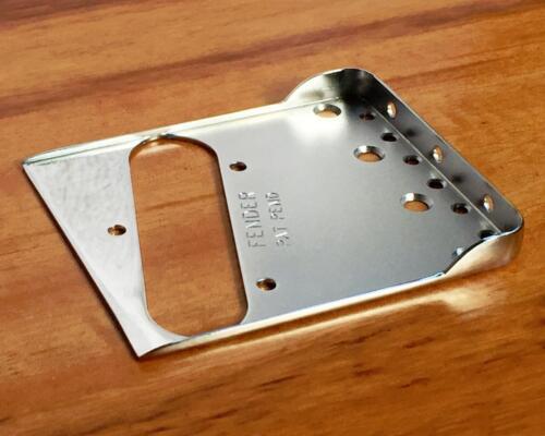 Fender Tele//Telecaster Vintage Style Bridge Plate w//Double Long Notches