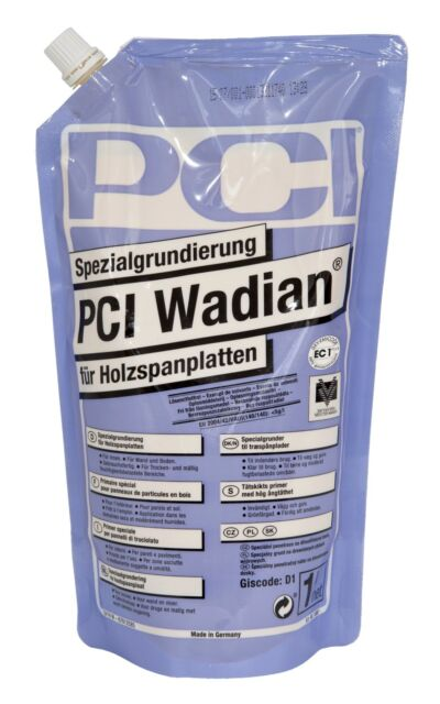 PCI Wadian 1L Imprimación Especial para Holzspanplatten Feuchtigkeitsbremse