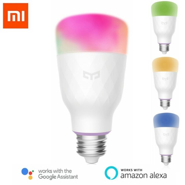 Xiaomi Amazon Wifi E27 Led 10w Yeelight Google Ampoule Smart Rgbw Alexa Pour CxoBeQrWEd