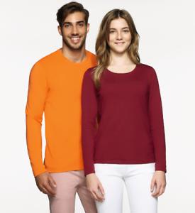 4er Pack Hakro 279 Herren Longsleeve T shirt Sweatshirt  xl xxl 3xl 4xl 5xl 6xl