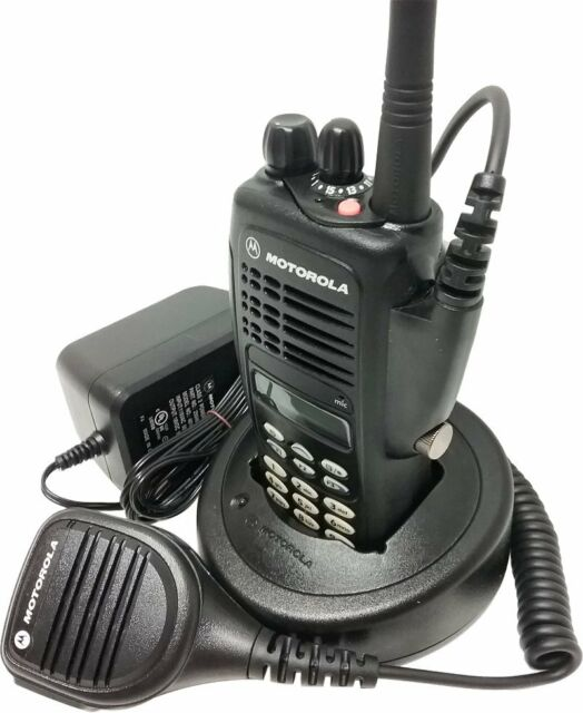 Motorola HT1250 Two Way Radio UHF 403-470 MHz Full Keypad GMRS AAH25RDH9AA6AN