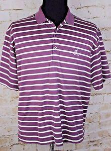 Fairway-amp-Greene-Men-039-s-Medium-Striped-Polo-Golf-Shirt-Troon-Course-M