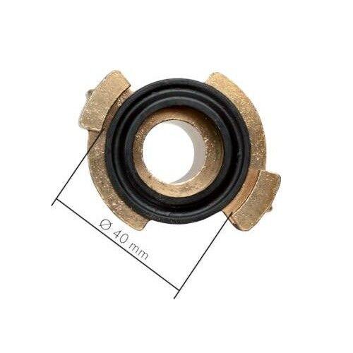 GEKA 10 Stück GEKA-Gartenschlauch-Schnellkupplung mit Außengewinde 40 mm