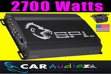 SPL APE1-2700D 2700 WATT AT 1 OHM CLASS D MONO SUBWOOFER CAR AUDIO AMPLIFIER