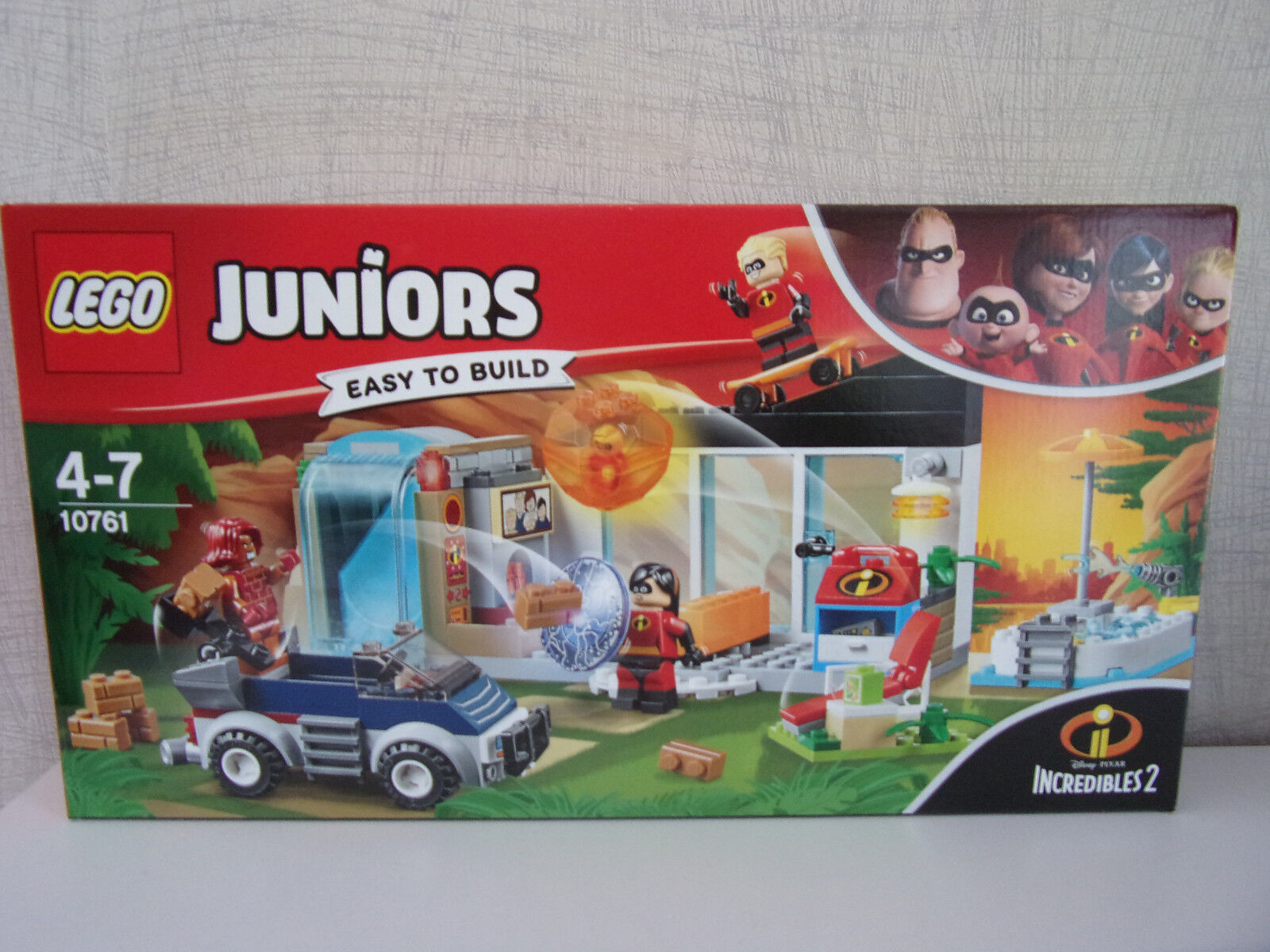 Lego Juniors   Easy To Build   10761 Die Große Évasion  Incrossoibles 2  -
