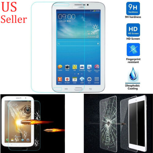 9H Premium Tempered Glass Screen Protector Film For Samsung Galaxy Tab Tablet PC