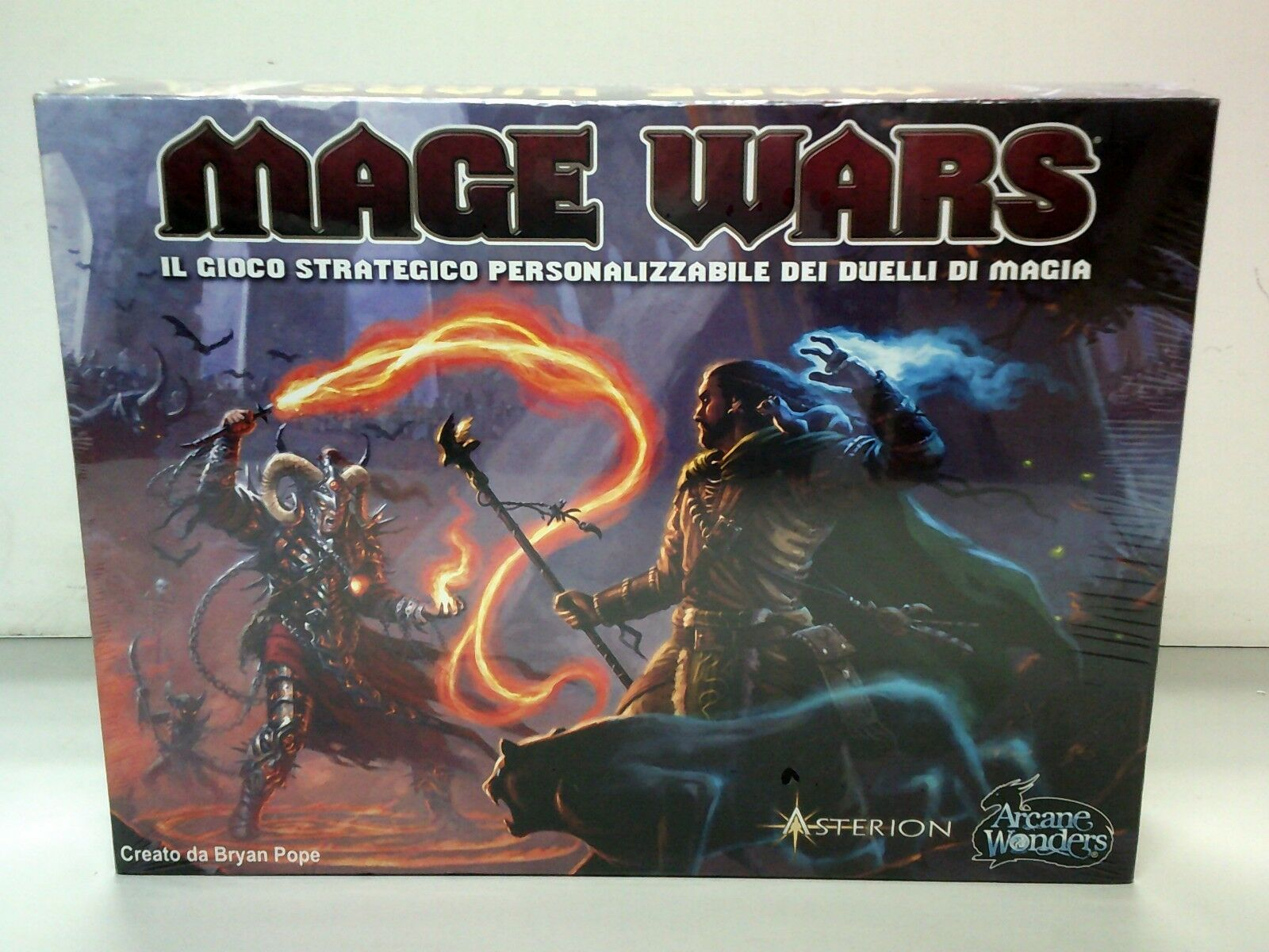 Arcane Wonders AWG 1010 Mage Wars Board Game