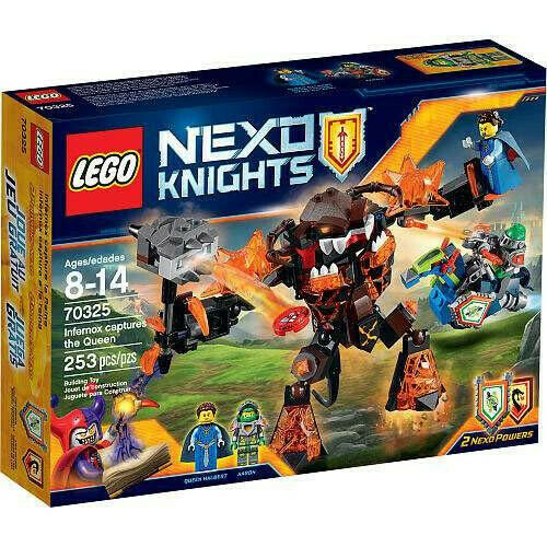 LEGO Nexo Knights 70325 Infernox Captures the Quee
