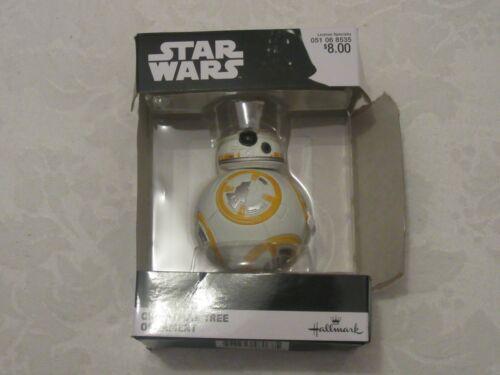 Hallmark Christmas Tree X-Mas Ornament Star Wars Disney BB-8 BB8 Last Jedi