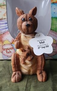 Cute Treasured Pal Mel the Kangaroo Ornament Gift Idea Boxed UK Freepost