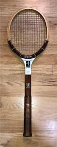 Vintage-Chris-Evert-Autograph-4-3-8-speed-flex-wood-tennis-racquet-Very-Good