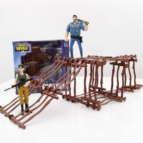 Fortnite Builder Rack Set with 2 Random Figures Boys Toys Gift in Box