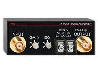 Rdl Tx-vla1 Video Line Amplifier - Adjustable Gain & Eq