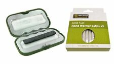 Strider Solid Fuel Rod Pocket Hand Warmer Order with or Without Refills