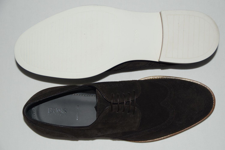 HUGO BOSS SCHUHE, Gr. EU 43,5 UK / UK 43,5 9.5,   , Made in ,Dark Braun 9e2d8d