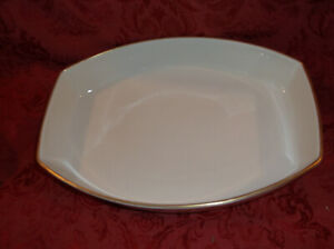 Moon Glow Interpace Franciscan Masterpiece China Gold Trim Vegetable Bowl