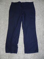 Wrangle Pants Workwear Navy Womens Size Plus Size 20 Inseam 36 Unfinished NWT
