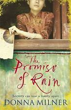The Promise of Rain by Donna Milner New Book