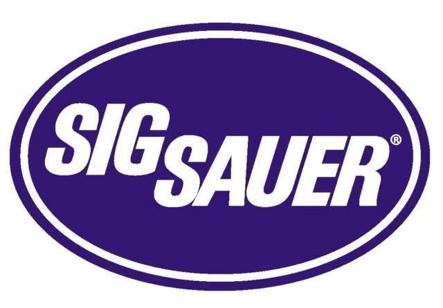 Sig Sauer Vinyl Decal Sticker USA MADE Gun WEAPON Rifle PISTOL Ammo R236