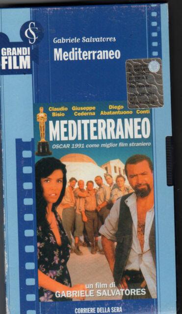 VHS=Mediterraneo(1991)=GRANDI FILM CORRIERE SERA=N°7 della collana=