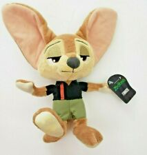 """Details about  /New Disney ZOOTOPIA PLUSH 8/"""" FINNICK"""