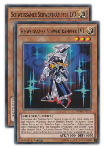 duelist Pack rival of the pharaoh tarjetas selección 1 tirada alemán Yu-Gi-Oh