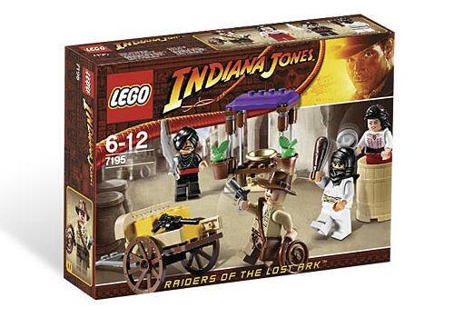 Nuevo Lego Indiana Jones emboscada en el Cairo 7195
