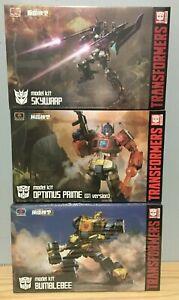 Flame Toys Furai Transformers Lot of 3 Skywarp**BumbleBee**Optimus**