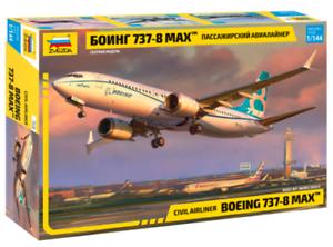 1 144 ZVEZDA 7026 Boeing 737-8 MAX model kit NEW