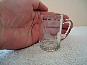 Vintage-Myrtle-Beach-S-C-034-Louis-034-Beer-Mug-Shaped-Shot-Glass-034-BEAUTIFUL-ITEM