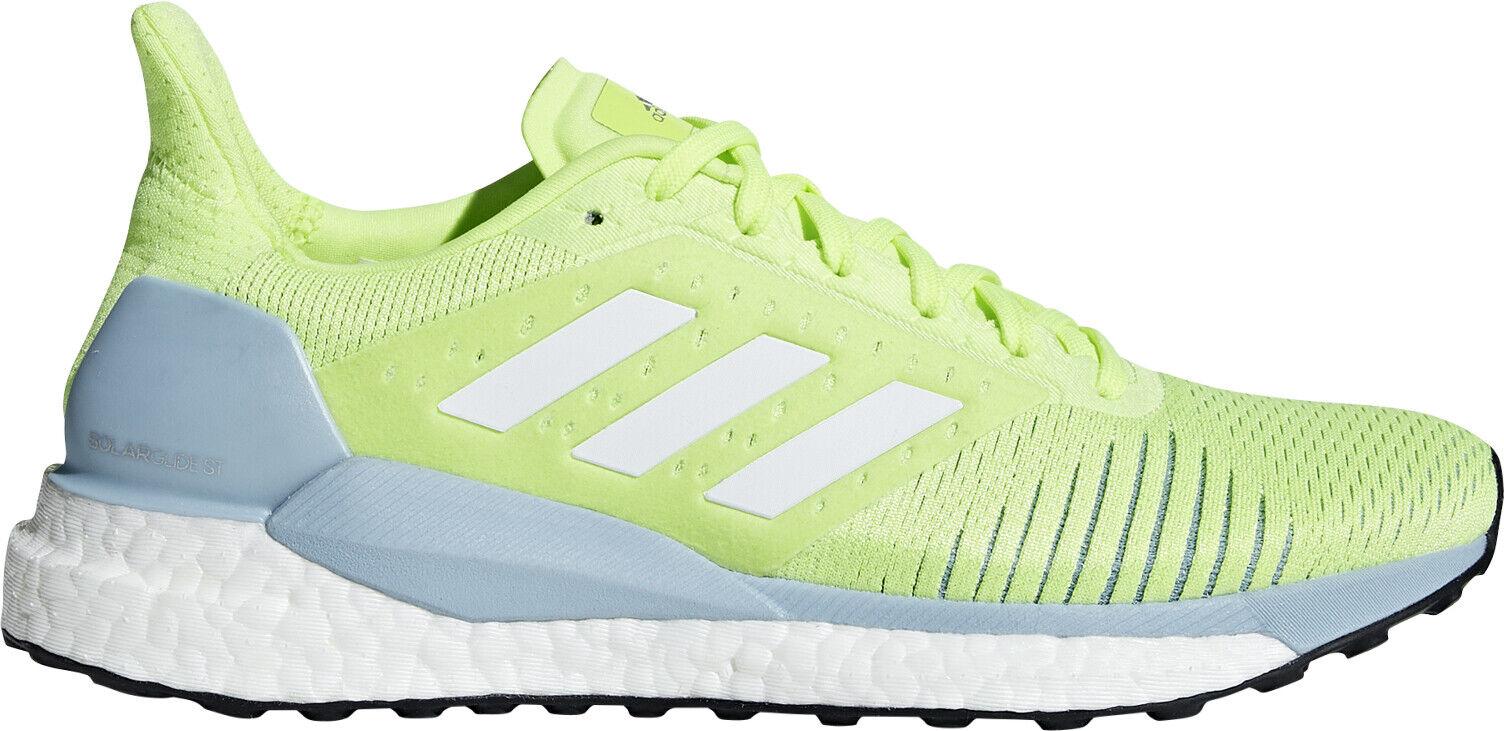 Adidas Solar Glide St Boost Mujeres Tenis para Correr-Amarillo