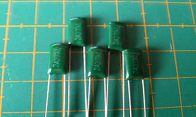 Polyester Film Capacitors - 5 Pack - Choose from 470pf-330nf - Free P&P