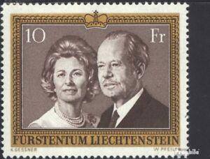 Liechtenstein-614-kompl-Ausg-postfrisch-1974-Fuerstenpaar