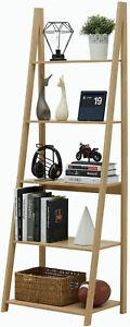 5-Tier-Ladder-Shelf-Bookcase-Flower-Stand-Storage-Shelf-Display-Shelf-Furniture